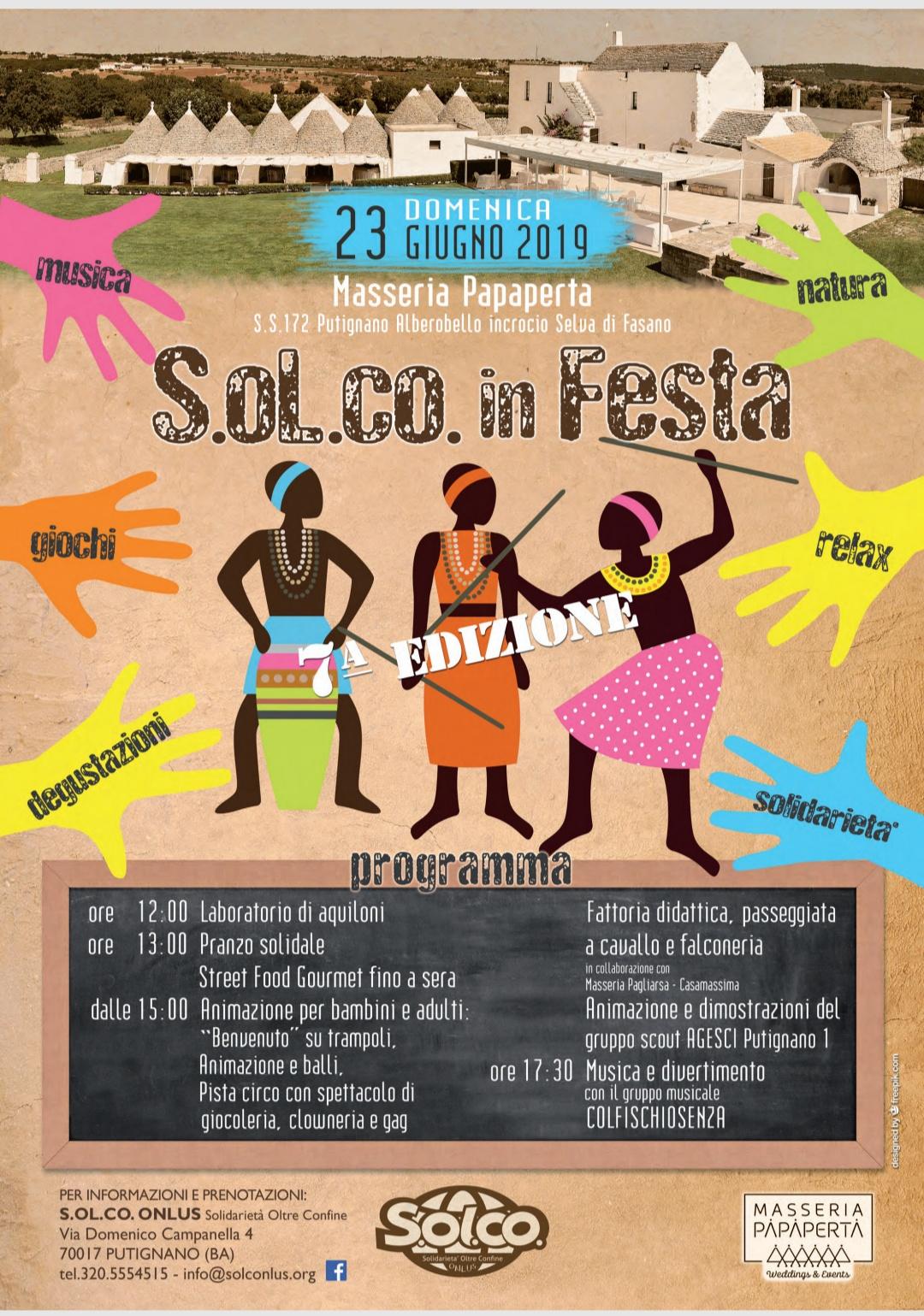 SOL.CO in festa 2019